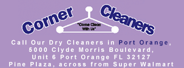 Corner Cleaners, Logo